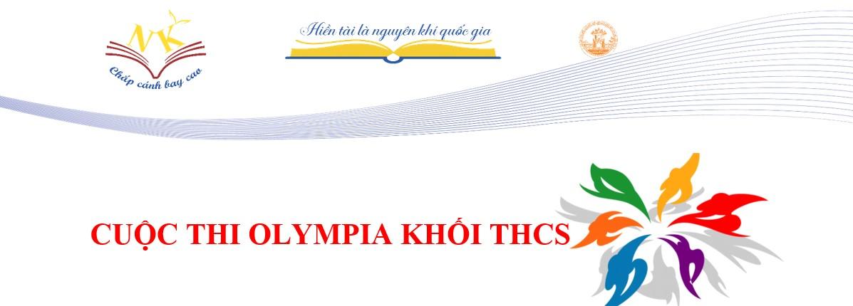 Cuộc thi olympia THCS